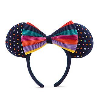 Walt Disney World Minnie Mouse Rainbow Disney Ears Headband For Adults