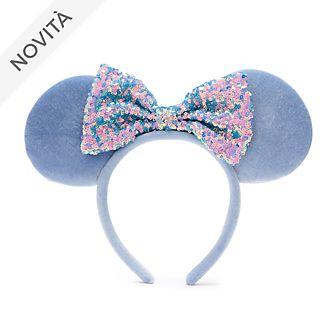 Cerchietto adulti orecchie Minni Fiordaliso azzurro Walt Disney World