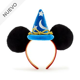 Walt Disney World diadema con orejas Mickey Mouse para adultos, Aprendiz de brujo