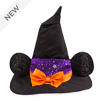Disney Store Minnie Mouse Witch Costume Hat For Kids
