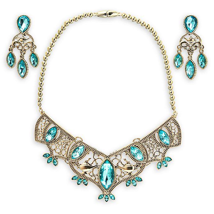 Disney Store Princess Jasmine Golden Costume Jewellery Set
