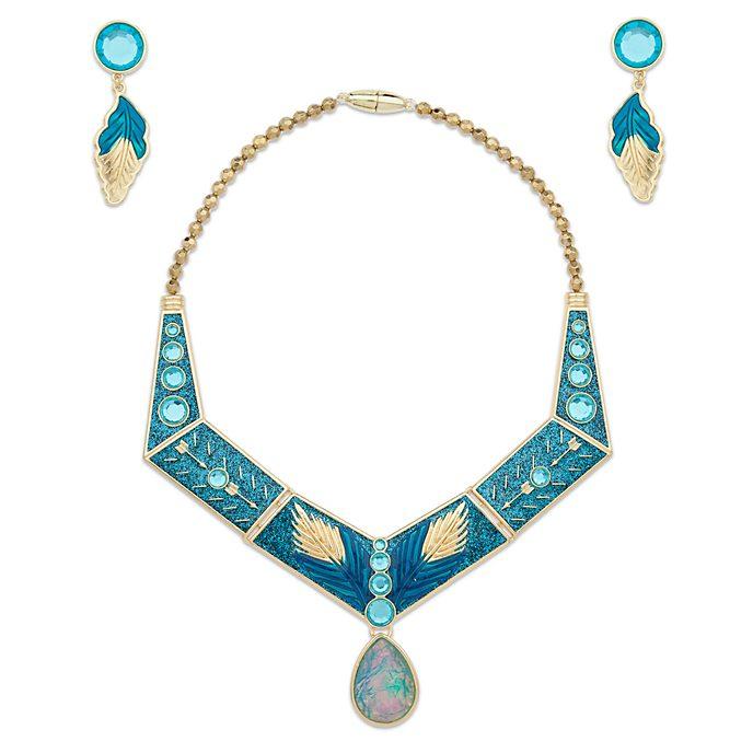 Disney Store Pocahontas Golden Costume Jewellery Set