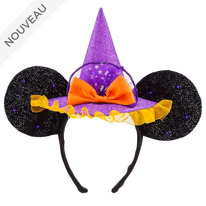 Disney Store Serre-tête lumineux à oreilles Minnie Sorcière pour enfants