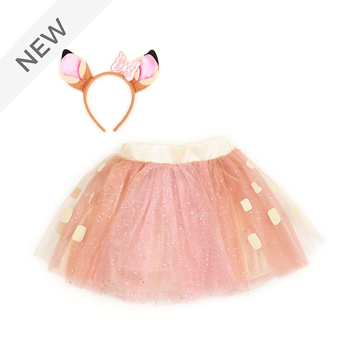Disney Store Bambi Tutu Skirt and Headband Set For Kids