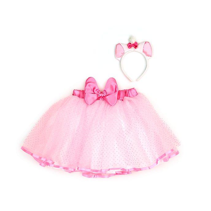 Disney Store Marie Tutu Skirt and Headband Set For Kids