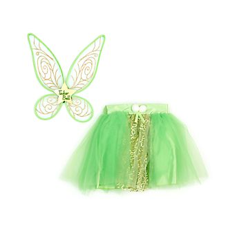 Disney Store Tinker Bell Tutu Skirt and Wings Set for Kids