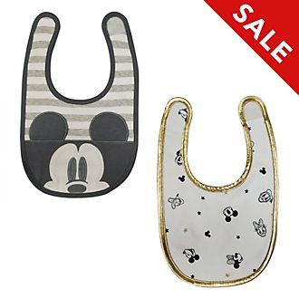 Disney Store - Micky und seine Freunde - Babylätzchen, 2er-Pack