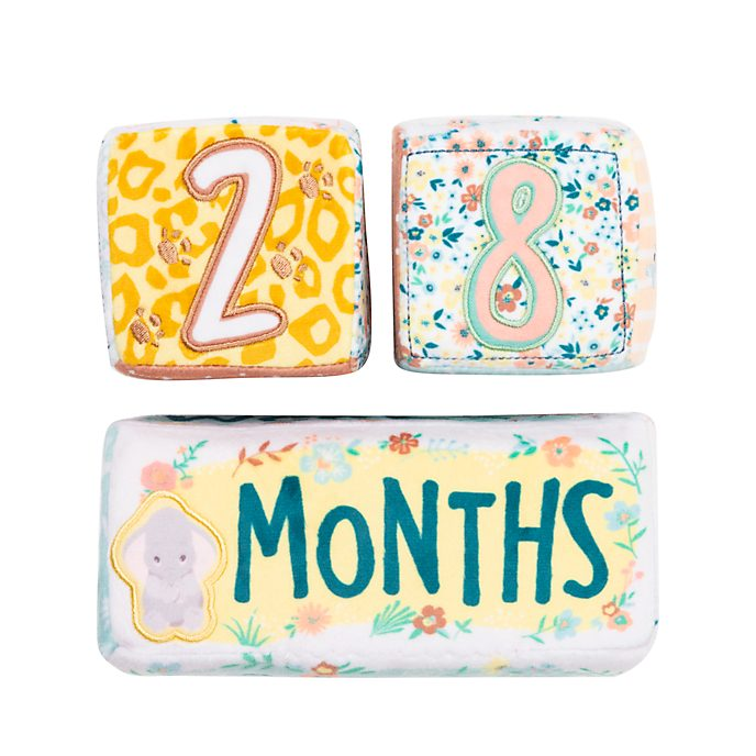 Bloque blandos acontecimientos para bebé Dumbo, Bambi y Simba, Disney Store