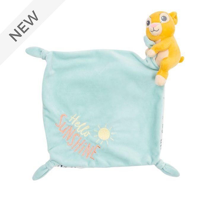 Disney Store Simba Baby Comforter Toy