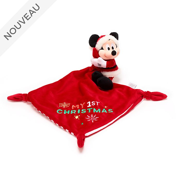 Disney Store Doudou Mickey pour bébés, Holiday Cheer