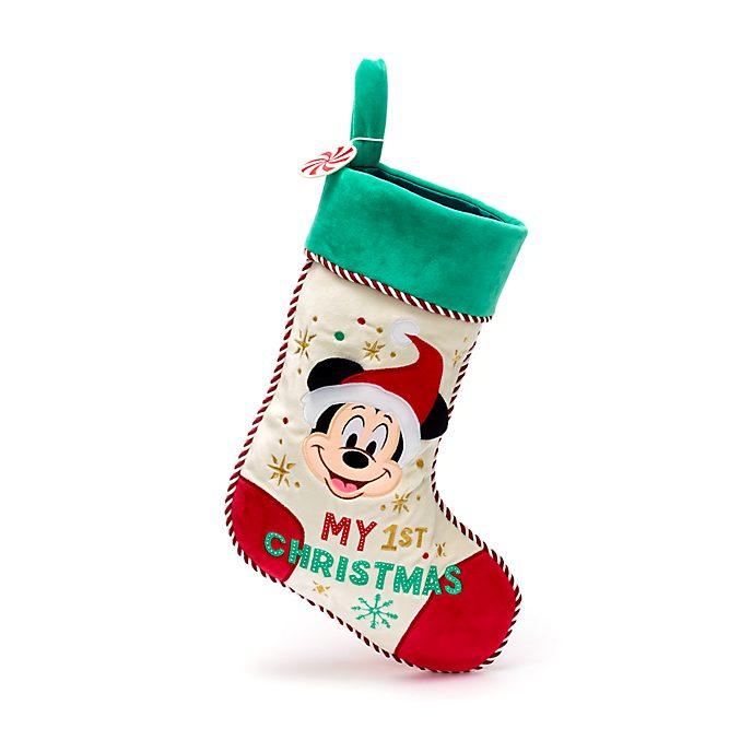 Calza baby Topolino Holiday Cheer Disney Store