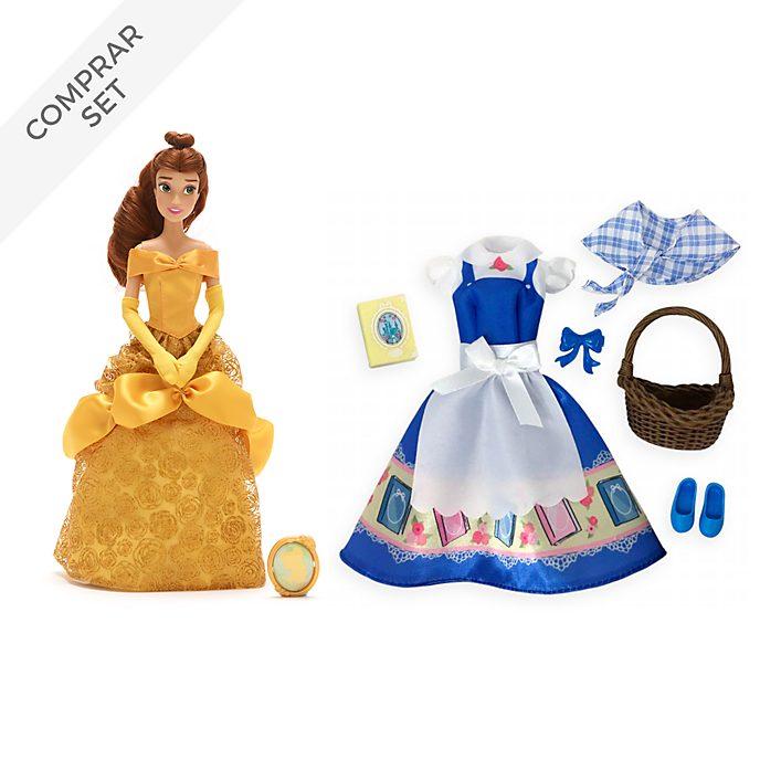 Muñeca Bella y colección de accesorios, La Bella y la Bestia, Disney Store