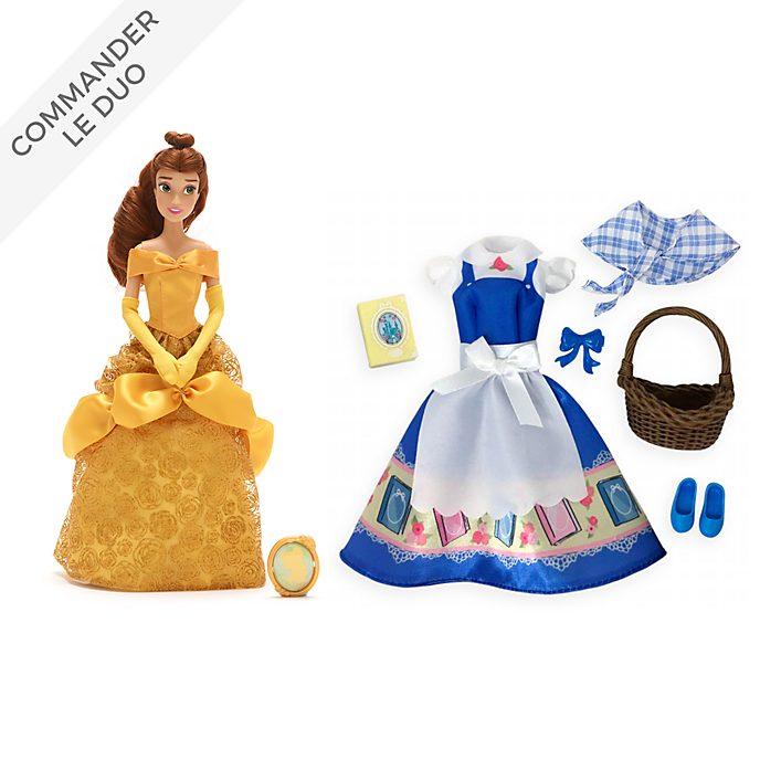 Disney Store Collection Poupée Belle et accessoires, La Belle et la Bête