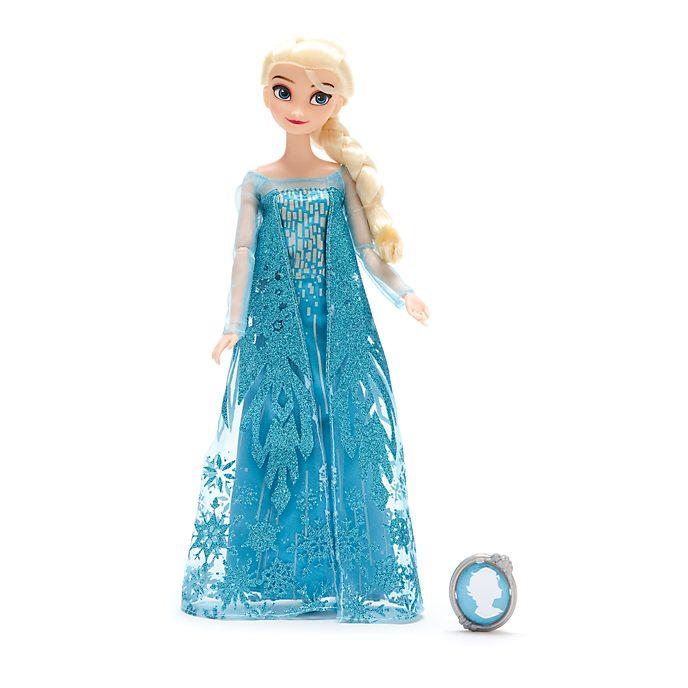 Muñeca clásica Elsa, Frozen, Disney Store
