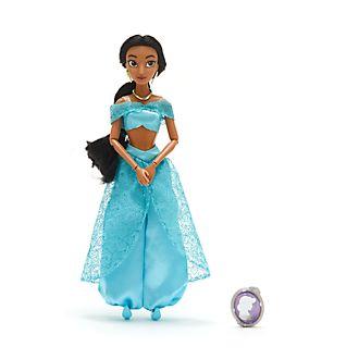 Muñeca clásica Princesa Jasmine, Aladdín, Disney Store