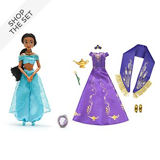 Disney Store Princess Jasmine Doll and Accessories Collection, Aladdin