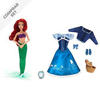 Muñeca Ariel y colección de accesorios, La Sirenita, Disney Store