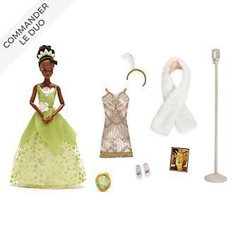 Disney Store Collection Poupée Tiana et accessoires, La Princesse et la Grenouille