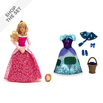 Disney Store Aurora Doll and Accessories Collection, Sleeping Beauty