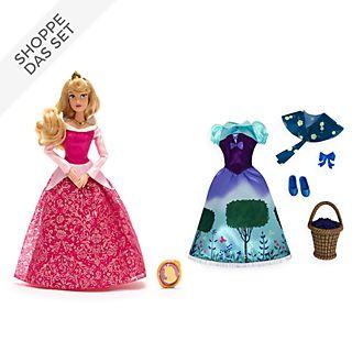Disney Store - Dornröschen - Aurora - Puppe und Accessoire Set