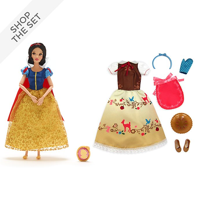 Disney Store Snow White Doll and Accessories Collection