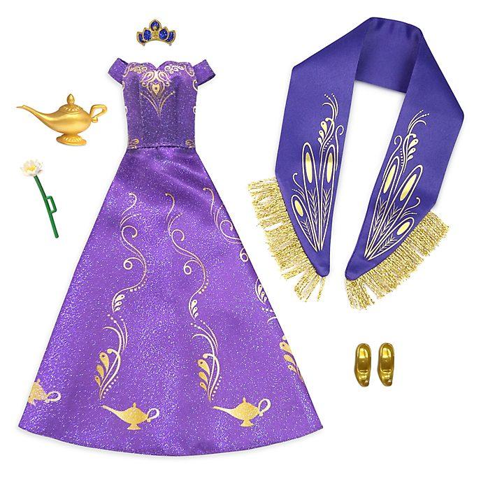 Paquete accesorios princesa Jasmine, Aladdín, Disney Store