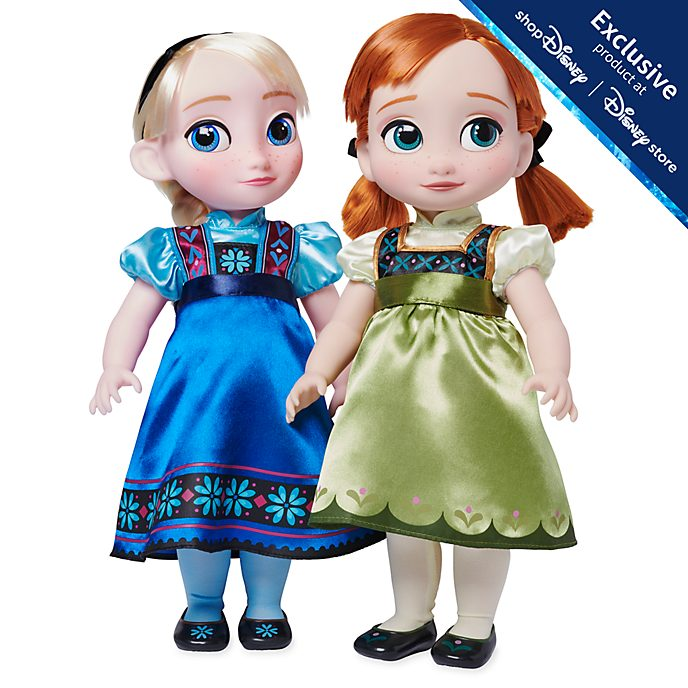 Disney Store Anna and Elsa Deluxe Gift Set, Frozen 2