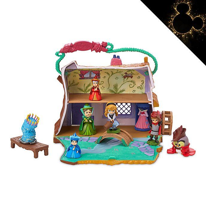 Disney Store Coffret cottage d'Aurore, collection Disney Animator Littles