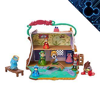 Disney Store - Disney Animators' Collection Littles - Aurora - Landhaus-Spielset