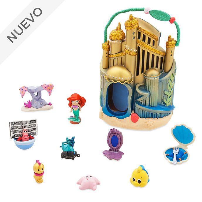 Set juego palacio bajo el mar de Ariel, colección Littles, Disney Animators, Disney Store