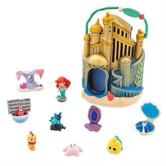Disney Store Ariel's Undersea Palace Playset, Disney Animators' Collection Littles
