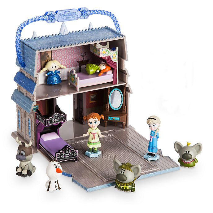 Disney Store Frozen Micro Playset, Disney Animators' Collection Littles