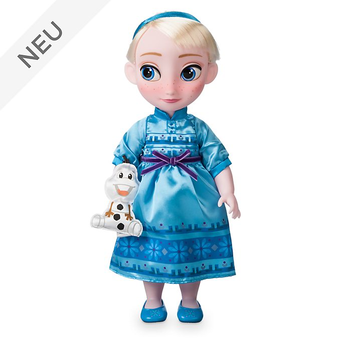 Disney Store - Disney Animators' Collection - Die Eiskönigin - völlig unverfroren - Elsa Puppe