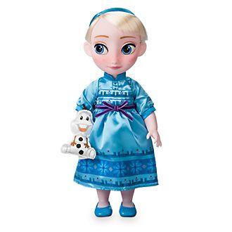 Disney Store - Disney Animators' Collection - Die Eiskönigin - völlig unverfroren - Elsa Puppe