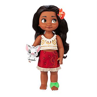 Disney Store Moana Animator Doll
