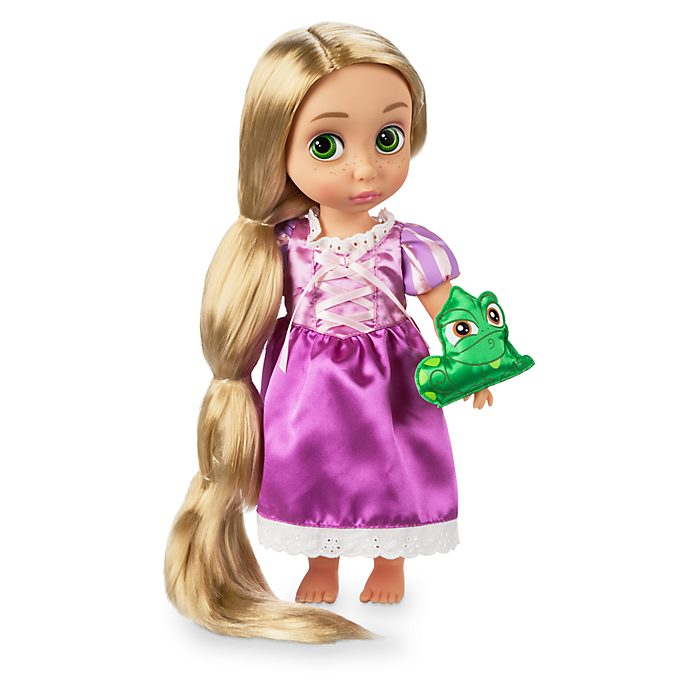 Disney Store - Disney Animators' Collection - Rapunzel - Neu verföhnt - Rapunzel Puppe