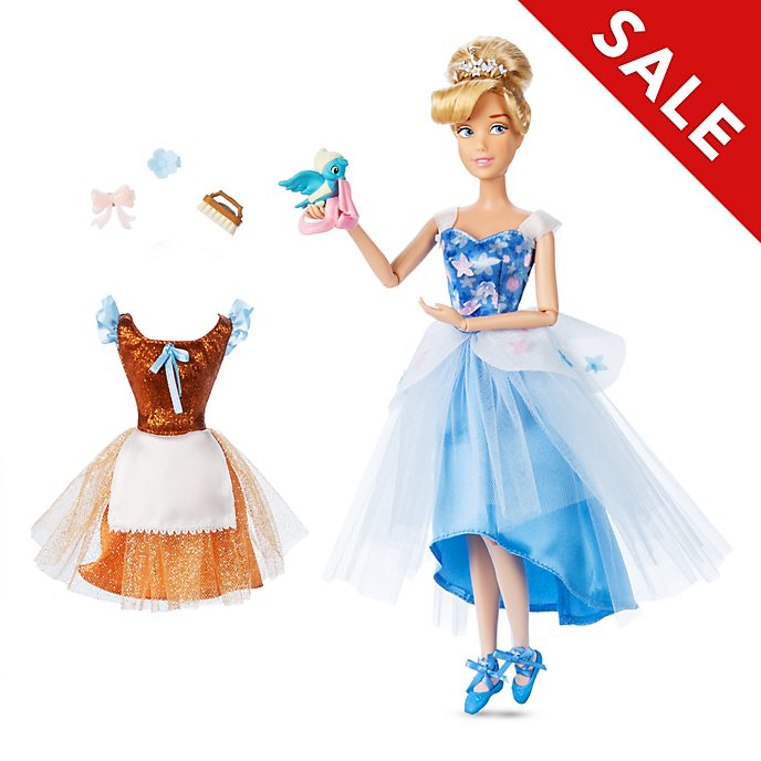 Disney Store Cinderella Ballet Doll