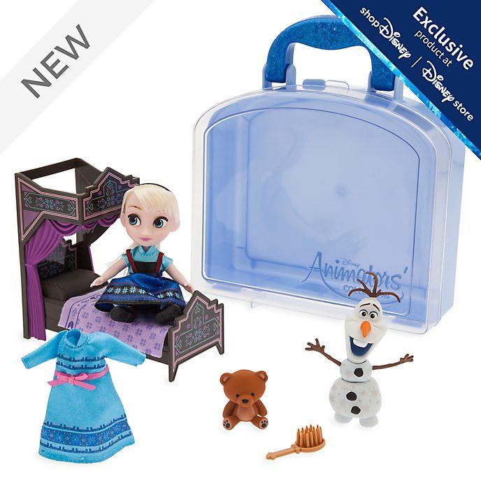 Disney Store Elsa Mini Doll Playset, Disney Animators' Collection