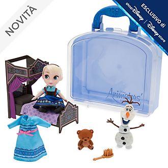 Set da gioco con mini bambola Elsa collezione Disney Animators Disney Store