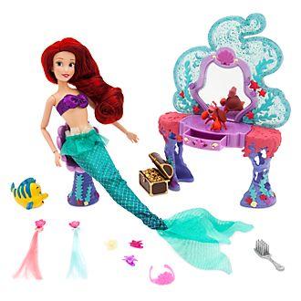 Set tocador bajo el mar princesa Ariel, Disney Store