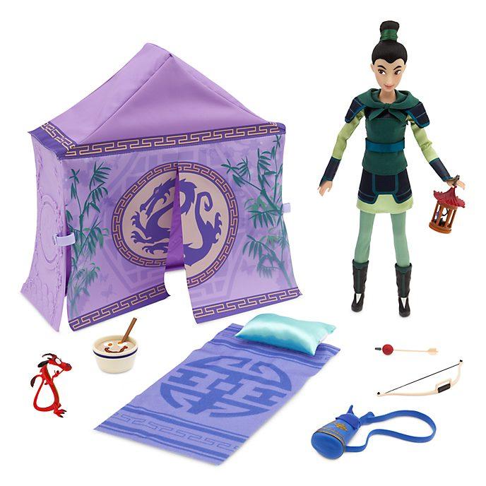 Disney Store Mulan Campsite Playset