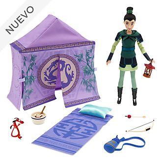 Set juego campamento princesa Mulán, Disney Store