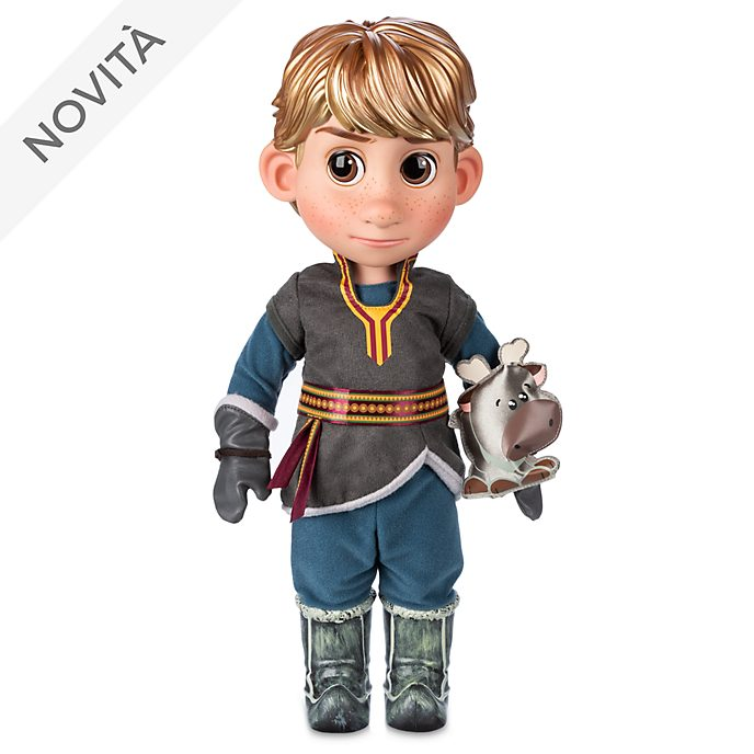 Bambola Animator Kristoff Frozen - Il Regno di Ghiaccio Disney Store