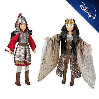 Hasbro Mulan and Xianniang Dolls