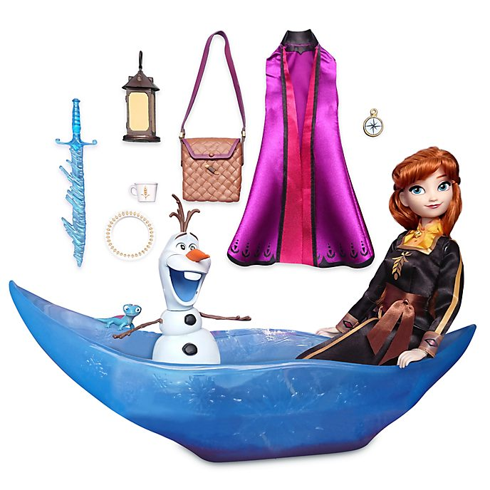 Disney Store Anna Adventure Playset, Frozen 2