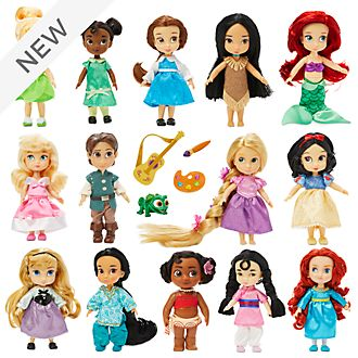 Disney Store Disney Animators' Collection Mini Doll Gift Set