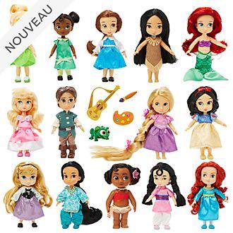 Disney Store Coffret cadeau de poupées miniatures Animator