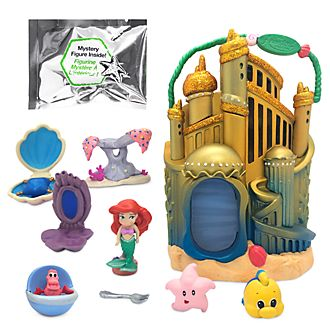Disney Store - Disney Animators' Collection Littles - Arielles Palast - Spielset