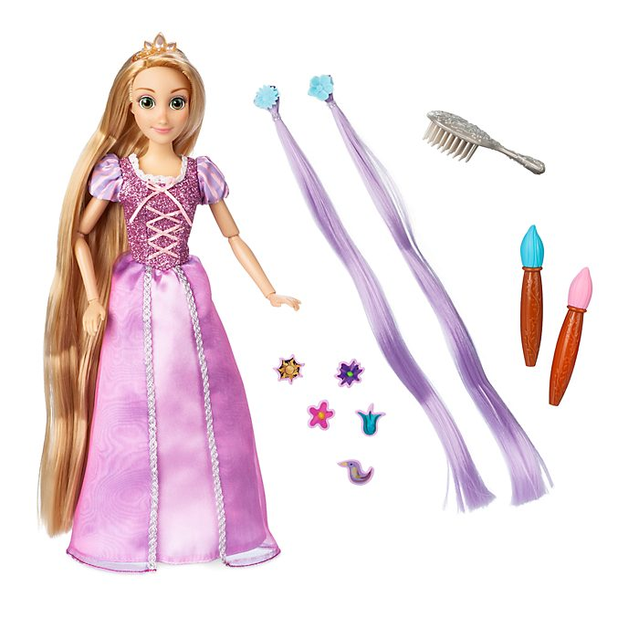 Disney Store Rapunzel Hair Play Doll