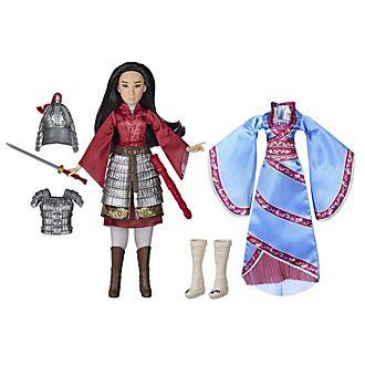 Bambola Mulan doppia versione Hasbro